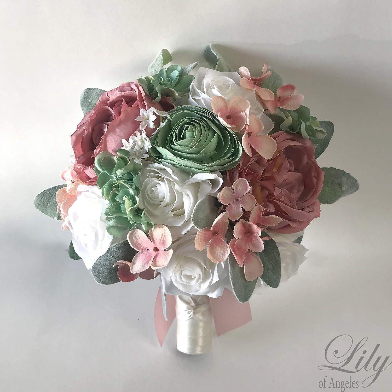 Amazon.com Wedding Bouquet, Bridal Bouquet, Bridesmaid Bouquet ...