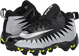 Nike Kids Alpha Menace Shark Football Wide (Toddler/Little Kid/Big Kid)