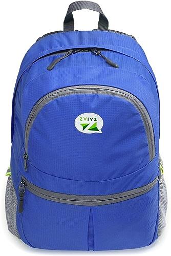 Zaiaz Ultra léger de voyage Petit sac à dos pliable Sac à dos