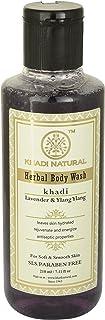 Khadi Natural Handmade Herbal Handmade Lavender and Ylang Ylang Body Wash (210 ml)
