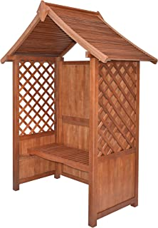 Best lattice arbor with bench Reviews