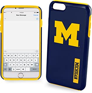 Michigan Wolverines Impact TPU 2-Piece Dual Hybrid iPhone 8 / iPhone 7 / iPhone 6 / iPhone 6s Case - 4.7