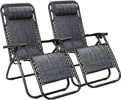 Brilliant Amazon Com Goplus Zero Gravity Chairs Lounge Patio Inzonedesignstudio Interior Chair Design Inzonedesignstudiocom