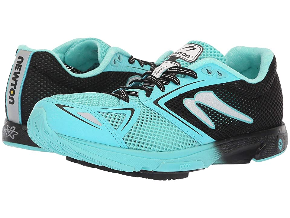 Newton Running Distance 7 (Black/Teal) Women