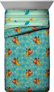 Best Jay Franco Disney Lion King Fun in The Sun Twin Comforter - Super Soft Kids Reversible Bedding Features Simba, Pumbaa, and Timone - Fade Resistant Microfiber (Official Disney Product) Review