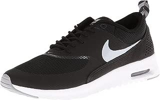 Womens Air Max Thea Black/Wolf Grey/Anthrct/White Running Shoe 9 Women US