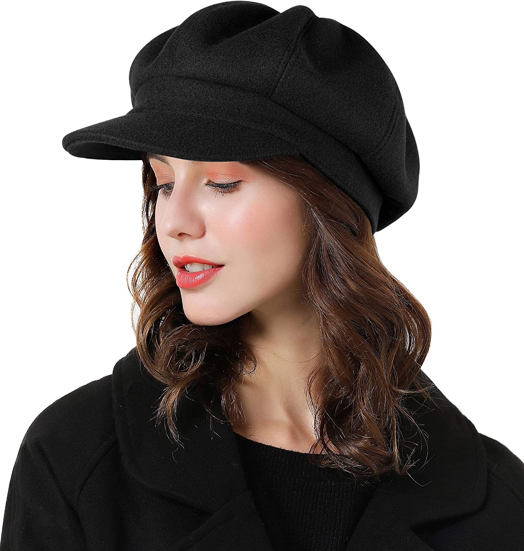 Sumolux Women Beret Newsboy Hat Ranking TOP14 French Wool Classic Autumn New item S Cap