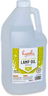 Citronella Tiki Torch Oil, 1 Gallon - Smokeless Insect and Mosquito Repellent Scented Paraffin Fluid for Indoor and Outdoor Lamp, Lantern and Oil Candle Use - by Hyoola