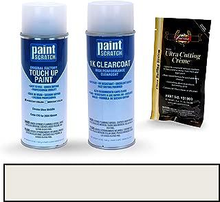 PAINTSCRATCH Chrome Silver Metallic KY0 for 2004 Nissan 350Z - Touch Up Paint Spray Can Kit - Original Factory OEM Automotive Paint - Color Match Guaranteed