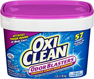 OxiClean with Odor Blasters Versatile Stain & Odor Remover 3 lb Tub - Pack of 2