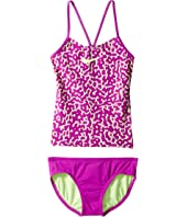 Nike Kids - Glow V-Back Tankini (Big Kids)