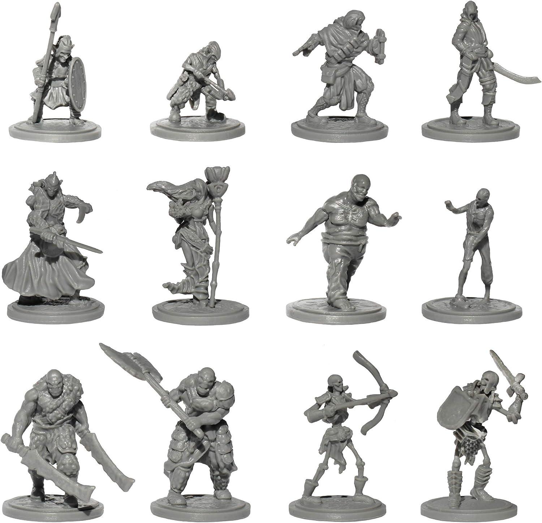 Origin Miniatures Max 51% OFF Fantasy Battle Pack Mi Unpainted 36 Figurines Baltimore Mall