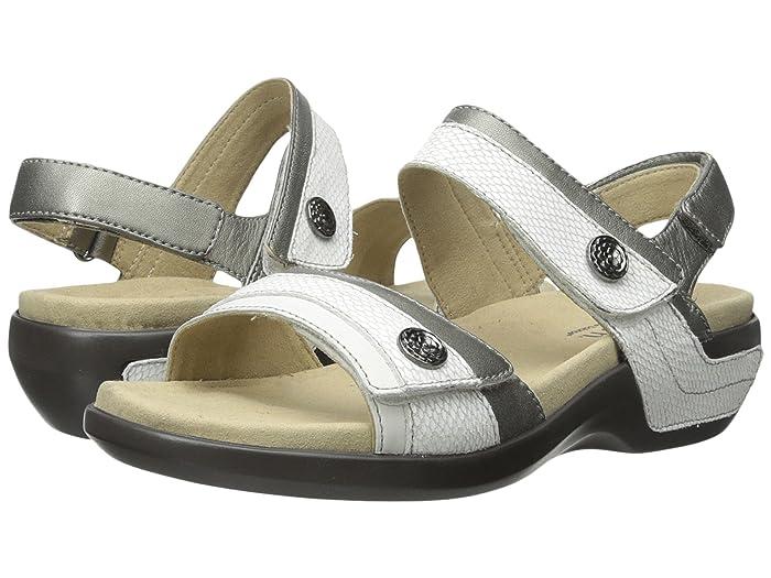 Aravon  Katherine-AR (White Multi) Womens Sandals