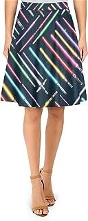 Lightsabers Star Wars Inspired A-Line Skirt