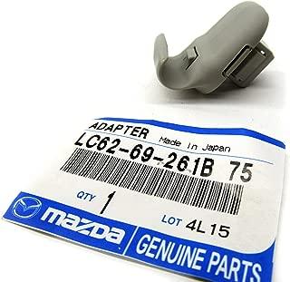 Mazda 2, 3, 5, CX-9 & CX-7 New OEM grey sun visor clip LC62-69-261B-75