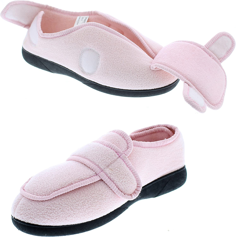 gold Toe Gayle Womens Edema Slipper,Orthodic Clinic shoes,Women's Orthopedic Slippers for Diabetics,Elderly Woman