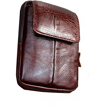 Small waist pouch Purse Banana bag Wallet hip bag wallet With leather and cork. holster