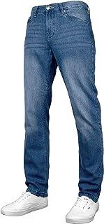 Fremont & Harris Atlanta Mens Regular Fit Straight Leg Denim Jeans