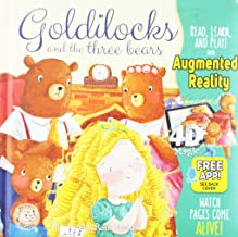 Goldilocks and the three bears - Come-To-Life Board Book - Little Hippo Books