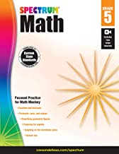 Spectrum | Math Workbook | 5th Grade, 160pgs