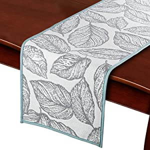 Valdus Table Runner for Family Dinners Gatherings Wedding Christmas Gatherings Party Decor Runner 12x108 inch & 14x71 inch Table Runners Festival Decoration (14x71 inch/35x180 cm)