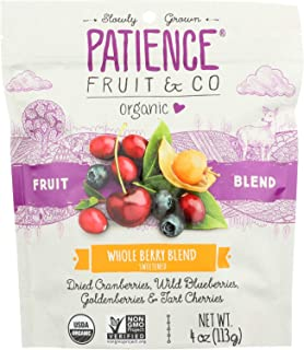PATIENCE FRUIT & CO, MIXED BERRIES, WHL SOF - Pack of 8