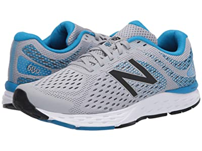 New Balance 680v6 (Silver Mink/Vision Blue) Men