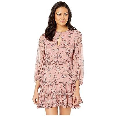 Bardot Ditsy Frill Dress (Rose Ditsy) Women