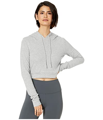 ALO Getaway Hoodie (Dove Grey Heather) Women