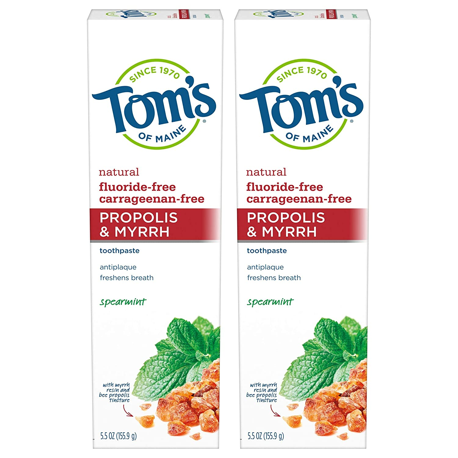 Tom's of Maine Fluoride-Free Propolis Myrrh High material Natural-Toothpaste New item