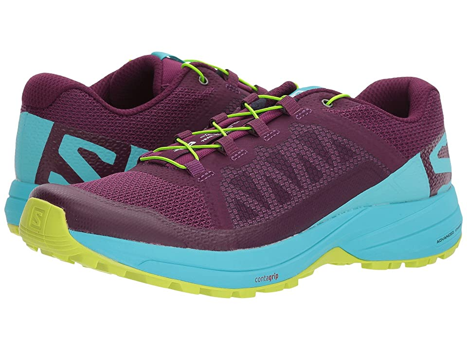 f8ef7af846b49 Salomon XA Elevate (Dark Purple/Blue Curacao/Acid Lime) Women's Shoes