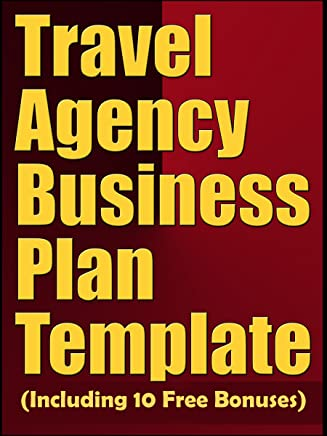 Amazon Com Travel Agency Business Plan Template Ebook