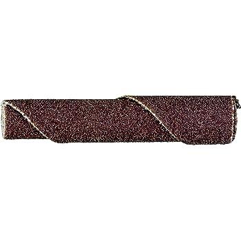 PFERD 41776 Untapered Cartridge Roll Aluminum Oxide A 1 Diameter x 2 Length Pack of 25 1//4 Arbor Hole 9000 Max RPM 60 Grit