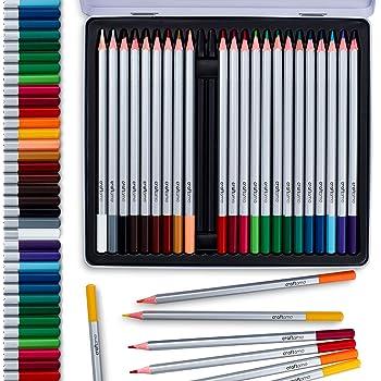 24 lápices acuarela de calidad artística y profesional, de colores ...