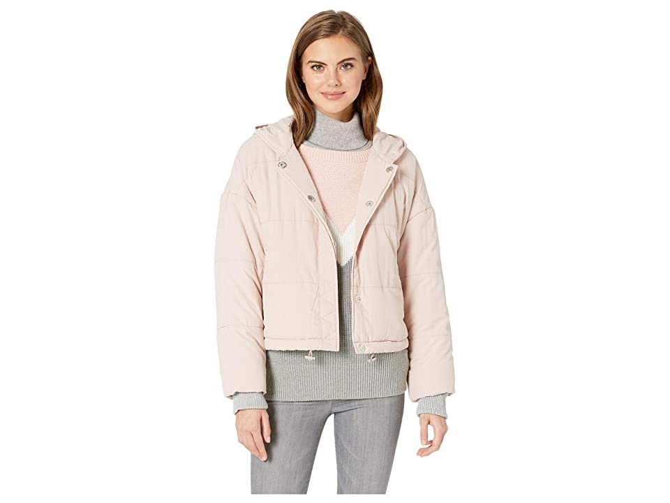 Splendid Dakota Puffer Jacket (Pink Beige) Women