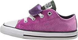 Chuck Taylor All Star Velvet Double Tongue - Ox (Infant/Toddler)