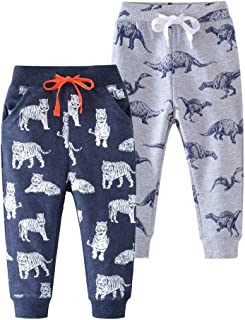 1 Pack OR 2 Pack HUAER/& Unisex Baby Boys Girls Casual Pants Anti-Mosquito Pants