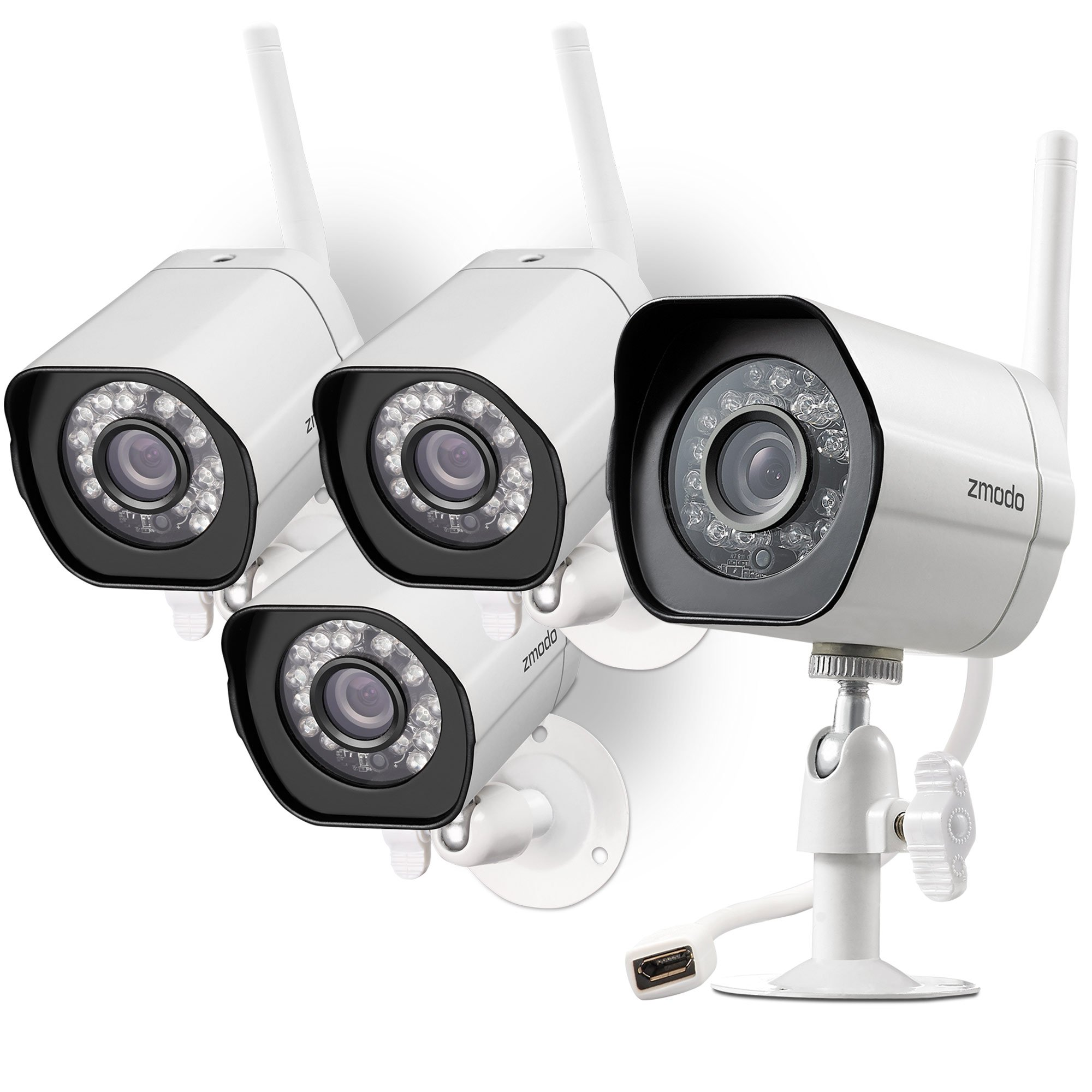 Zmodo Wireless Security Outdoor Recording