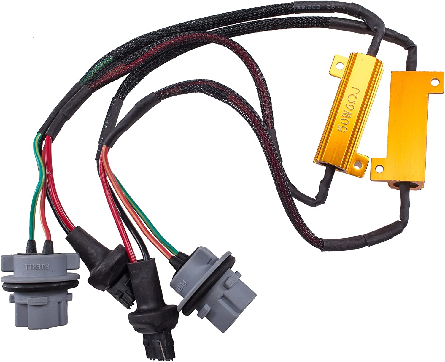 50W 6Ohm LED Load Resistors Free Shipping Cheap Bargain Gift for Hyperflash Translated Rapid Fix Blink -