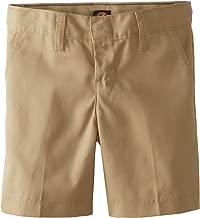 Dickies Boys' Flex Waist Flat Front Short
