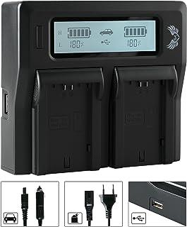 SK LCD Dual ładowarka do Sony NP-FZ100 pasuje do Sony Alpha 6600 A7 7 III 7R III - IV 7M3 7RM3 / Alpha 9 II 9II 9R 9S / A9...