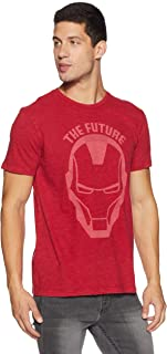 Ironman By Free Authority Men's Printed Regular Fit T-shirt