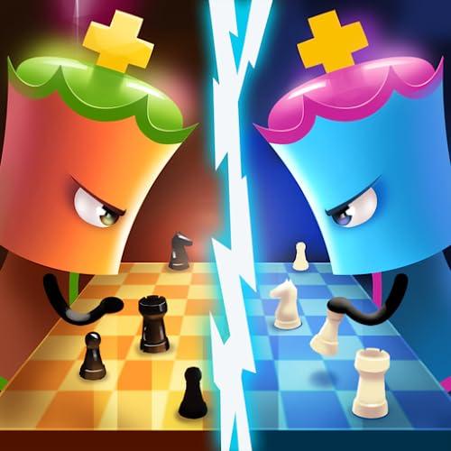 Jogos de xadrez para dois jogadores: Jogos de cérebro para 2 jogadores de xadrez grátis