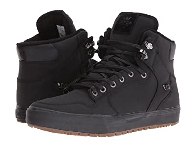 Supra Vaider (Winter) (Black/Black/Dark Gum) Men