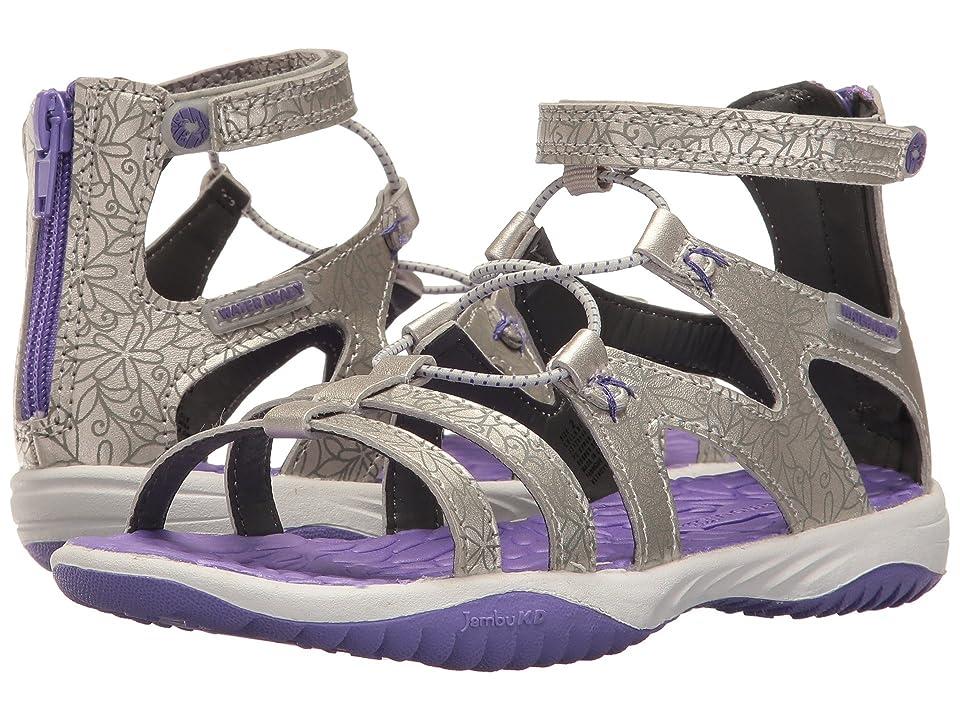 Jambu Kids Leilani (Toddler/Little Kid/Big Kid) (Silver/Purple) Girls Shoes