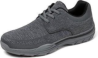 Chaussures de Randonnée Course Basses Baskets Homme Trekking Walking Suede Loafer Slip on Casual Chaud Anti Slip Sneakers ...