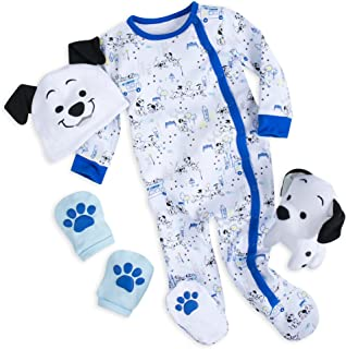 Disney 101 Dalmatians Gift Set for Baby - Blue Size 9-12 MO Multi