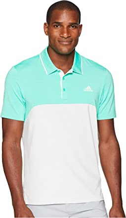 Ultimate Heather Blocked Polo