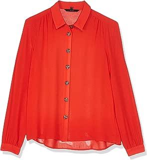 Vero Moda women's cardigan in Fiery Red, Size: 38 EU (Manufacturer Size:Medium)