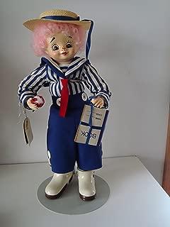 Brinn's Calendar Clown Doll September School Days 14